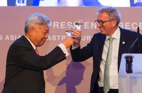 Pierre Gramegna: «Le Luxembourg croit dans l'approche multilatérale en tant que facteur de développement; nous apprécions l'orientation environnementale de l'AIIB.» (Photo: SIP)