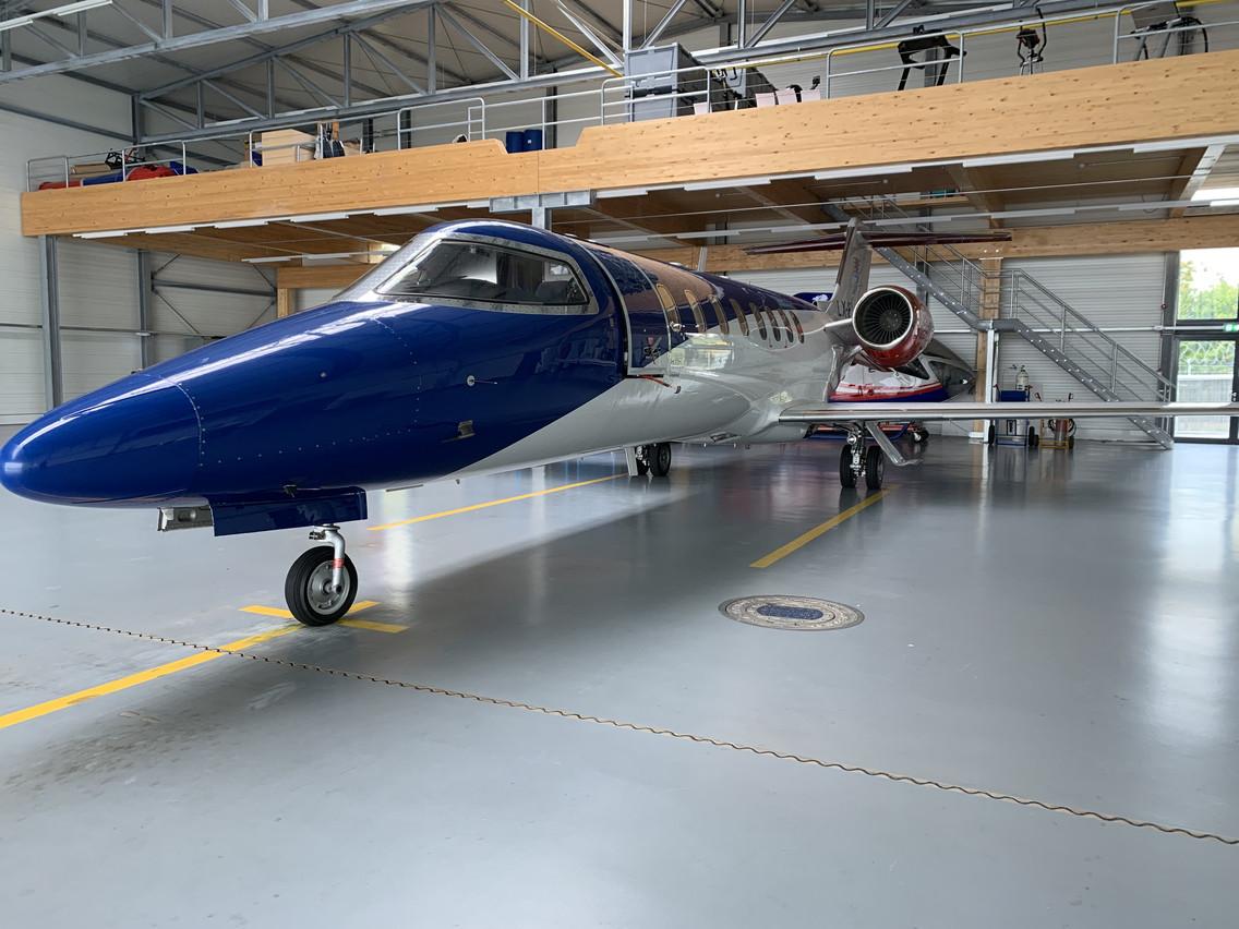 Ce sont d'anciens jets privés qui ont été transformés en avions de secours. (Photo: Paperjam)
