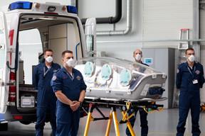 L'epishuttle s'utilise aussi bien en ambulance… ((Photo: Matic Zorman / Maison Moderne))