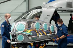 Luxembourg Air Rescue a fait l'acquisition de son premier epishuttle, d'une valeur de 125.000 euros, grâce à un appel aux dons qui a réuni 160.000 euros. (Photo: Matic Zorman / Maison Moderne)