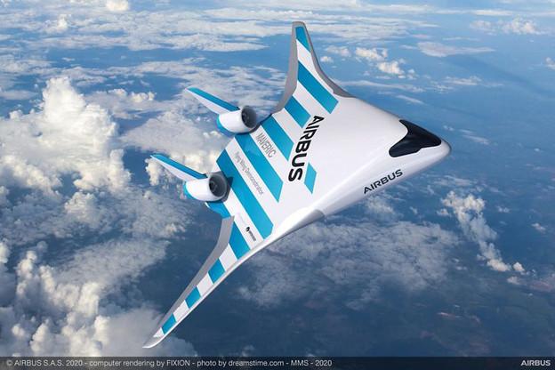 Airbus a présenté Maveric, l'avion du futur, à Singapour. (Photo: Airbus)