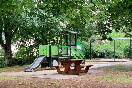 Les aires de jeux seront, dès ce jeudi, accessibles aux enfants sans protection buccale. (Photo: Paperjam)