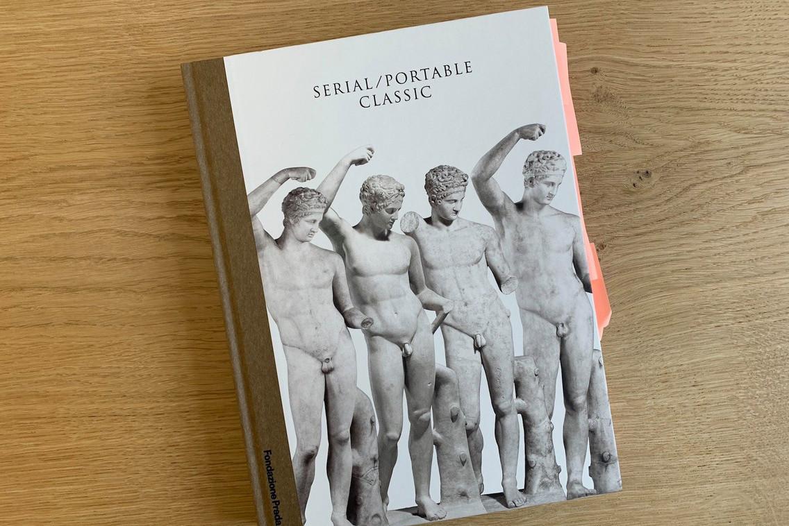 AlexReding recommande la lecture du catalogue de l'exposition «Serial/Portable Classic» présentée à la Fondazione Prada. (Photo: DR)