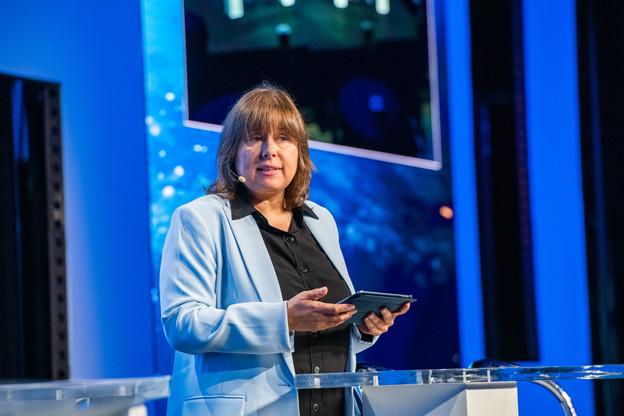 «Les percées technologiques et l'innovation se produisent souvent en période de perturbations et nous pouvons nous attendre à voir la transformation numérique s'accélérer», résume Corinne Lamesch en écho à la situation actuelle. (Photo: Keven Erickson)