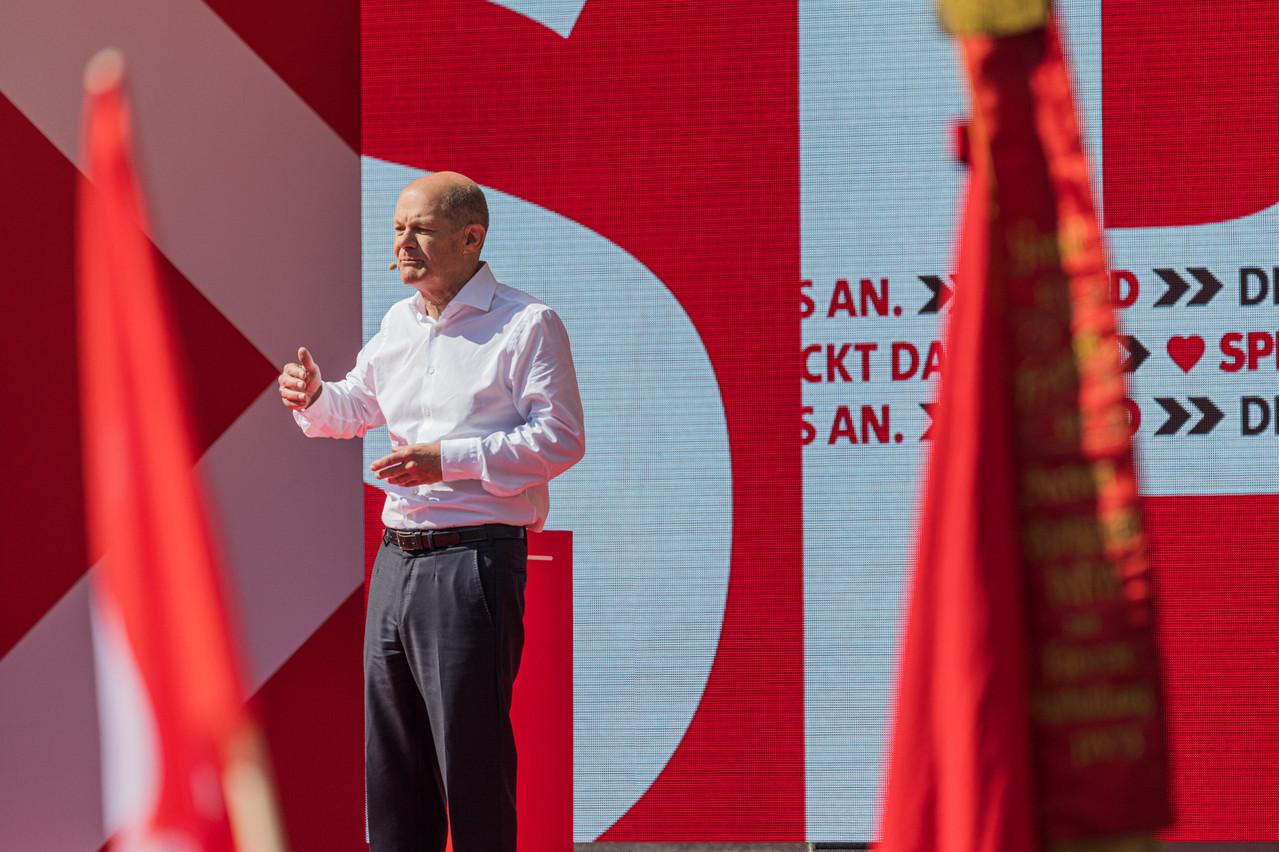 OlafScholz et son parti, le SPD, ont remporté 25,7% des voix. (Photo: Schutterstock)
