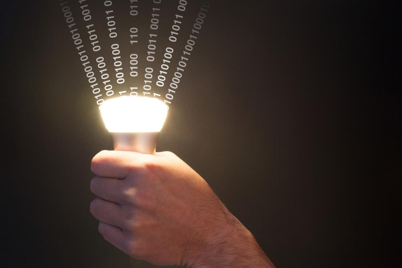 Après la wifi, le lifi. Cette nouvelle technologie de transmission de la communication par la lumière a un potentiel reconnu. L'Alliance devra encadrer ses développements. (Photo: Shutterstock)
