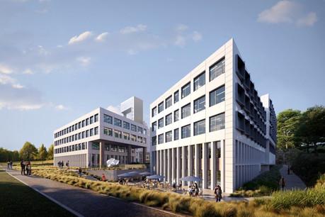 Le complexe a trouvé des locataires représentant des secteurs d'activité variés. (Illustration: Codic)