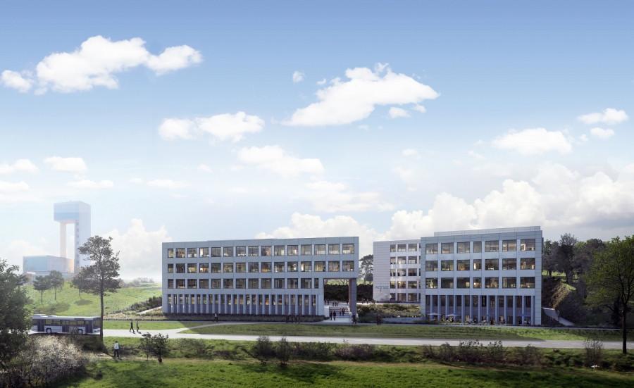 L'immeuble abrite également le siège social des sociétés TraluxConstruction et Tralux Immobilier. (Illustration: Codic)