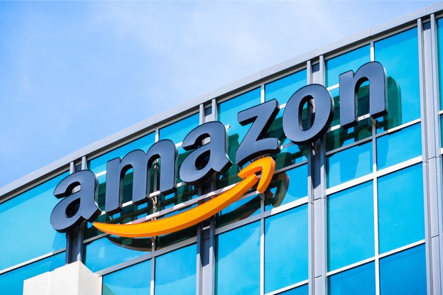 Amazon a connu une progression de son chiffre d'affaires de 18,2% en un an. (Photo: Shutterstock)