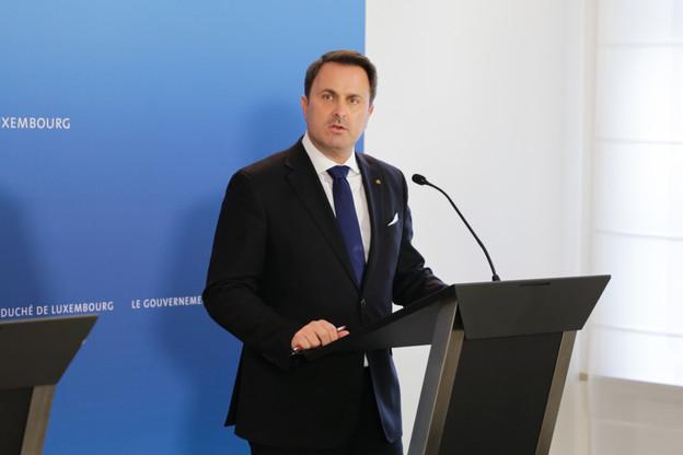 À la différence des autres régulateurs européens, la CNPD n'est pas autorisée à évoquer des cas particuliers, rappelle le Premier ministre, XavierBettel. (Photo: archives Maison Moderne)