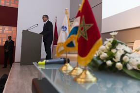 Fouad Brini, président du Conseil d'Administration de l'Agence Spéciale Tanger Méditerranée (TMSA) ((Photo: SIP / Jean-Christophe Verhaegen))