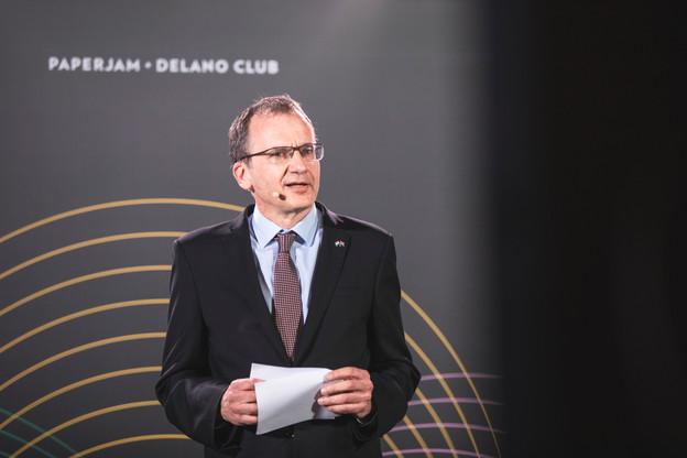John Marshall, ambassadeur britannique au Luxembourg (Photo: Simon Verjus/Maison Moderne)