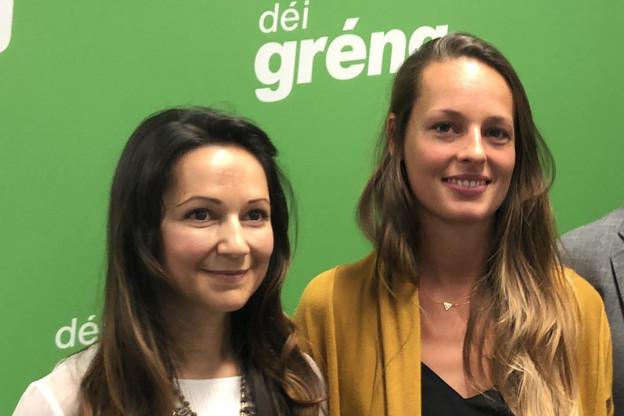 Semiray Ahmedova et Chantal Gary prêteront serment mardi à la Chambre des députés. (Photo: Paperjam)