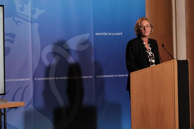 Paulette Lenert, ministre de la Santé, a présenté la stratégie développée dans le cadre de la seconde phase de dépistage à large échelle. (Photo: MSAN)