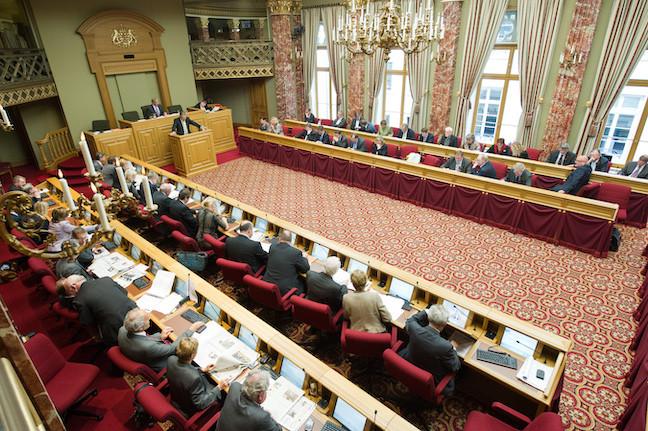 L'amendement interdisant le recrutement de collaborateurs parents de députés est visé par une opposition formelle du Conseil d'État. (Photo: Charles Caratini / Archives)