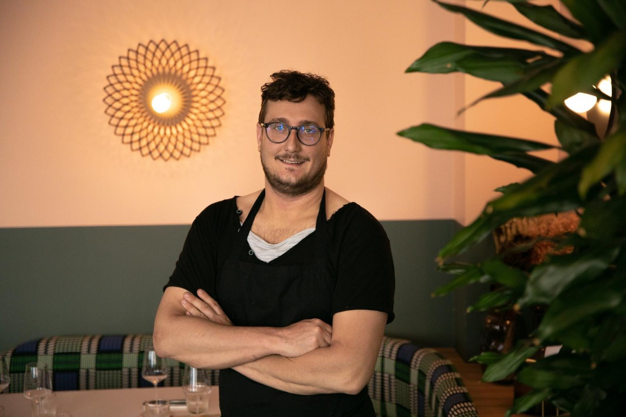 Mathieu Morvan est en charge de la carte du nouvel Amore, mais pas que: il agira aussi sur l'ensemble du groupe de Gabriel Boisante en matière d'offre food. (Photo: Maison Moderne)