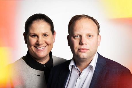 Maren Stadler-Tjan & Olivier Zwick, counsels, Investment Funds at Clifford Chance (Photo: Maison Moderne)