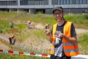 Ben Thuy, curator at the National Museum of Natural History, coordinated the excavation. (Photo: Matic Zorman/Maison Moderne)