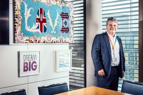 """""""PwC is a historic partner of the Paperjam Top100 since the first edition,"""" says John Parkhouse. (Photo: PwC)"""