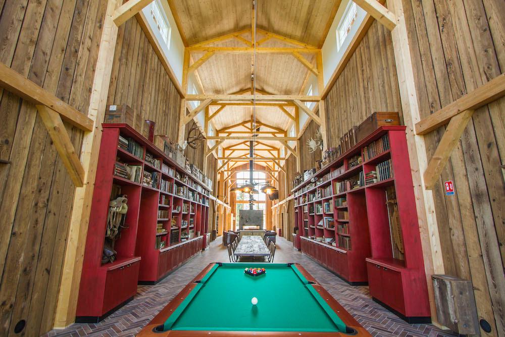 "The interior of the hotel ""La Grange aux Coyotes""  Photo: Morgane Bricard"
