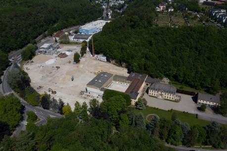 L'ancien site de production de Villeroy & Boch est désormais prêt pour être entièrement redéveloppé. (Photo: Villeroy & Boch)