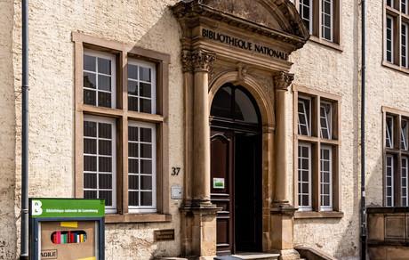 L'ancienne Bibliothèque nationale accueillera les services de la Cité judiciaire et des projets culturels et de gastronomie au rez-de-chaussée. (Photo: Archives Maison Moderne)