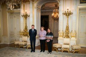 Elle rencontre le même jour le Grand-Duc Henri et la Grande-Duchesse Maria Teresa. ((Photo: SIP))