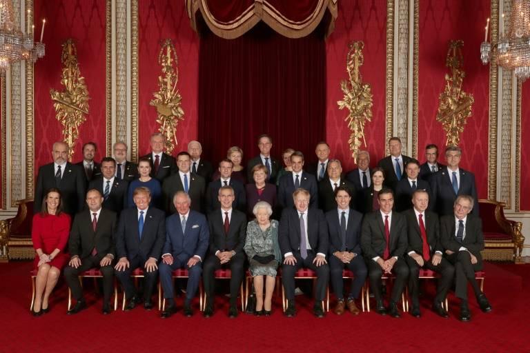 La photo de famille ne masque pas les profonds différends qui étrillent l'Alliance Atlantique. (Photo: Pool/Yui Mok)