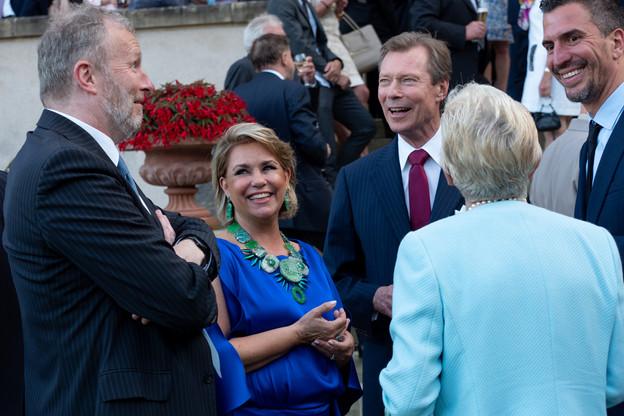 Le Grand-Duc Henri et la Grande-Duchesse Maria Teresa recevront les forces vives de la nation mardi au château de Berg. (Photo: Claude Piscitelli / Archives)