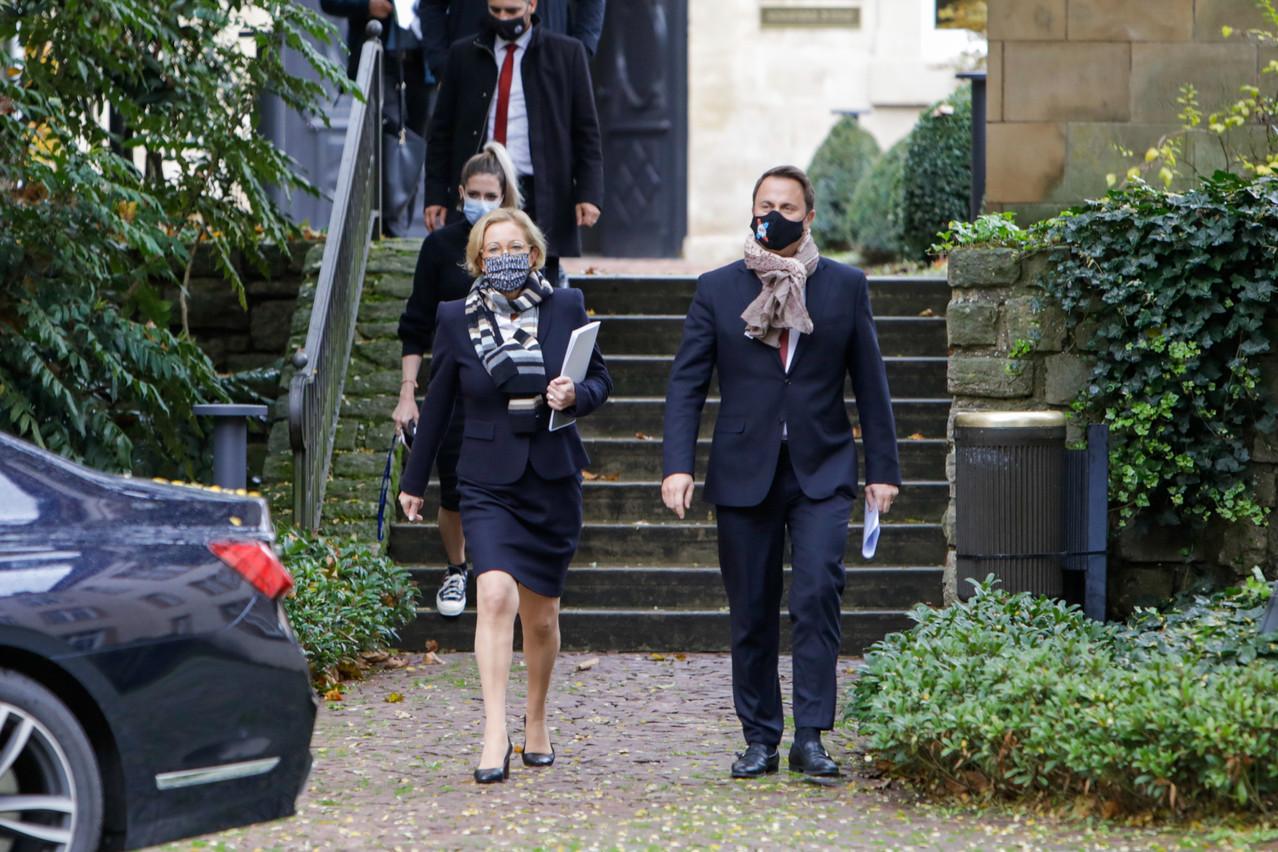 Le gouvernement luxembourgeois a fait plusieurs annonces quant à la marche à suivre pour endiguer la hausse des cas de Covid+. (Photo: Romain Gamba/Maison Moderne)