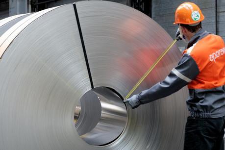 Les ventes d'acier ont baissé, mais c'est surtout la pression sur les prix qui fait souffrir Aperam. (Photo: Aperam)