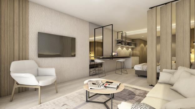 L'appart-hôtel est une alternative idéale et flexible pour les voyageurs d'affaires.  Dorga