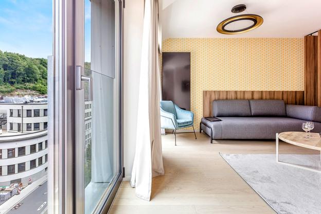 Neudorf House propose 86 appartements privés offrant confort et autonomie. immophoto.lu, photographe: Neha Poddar