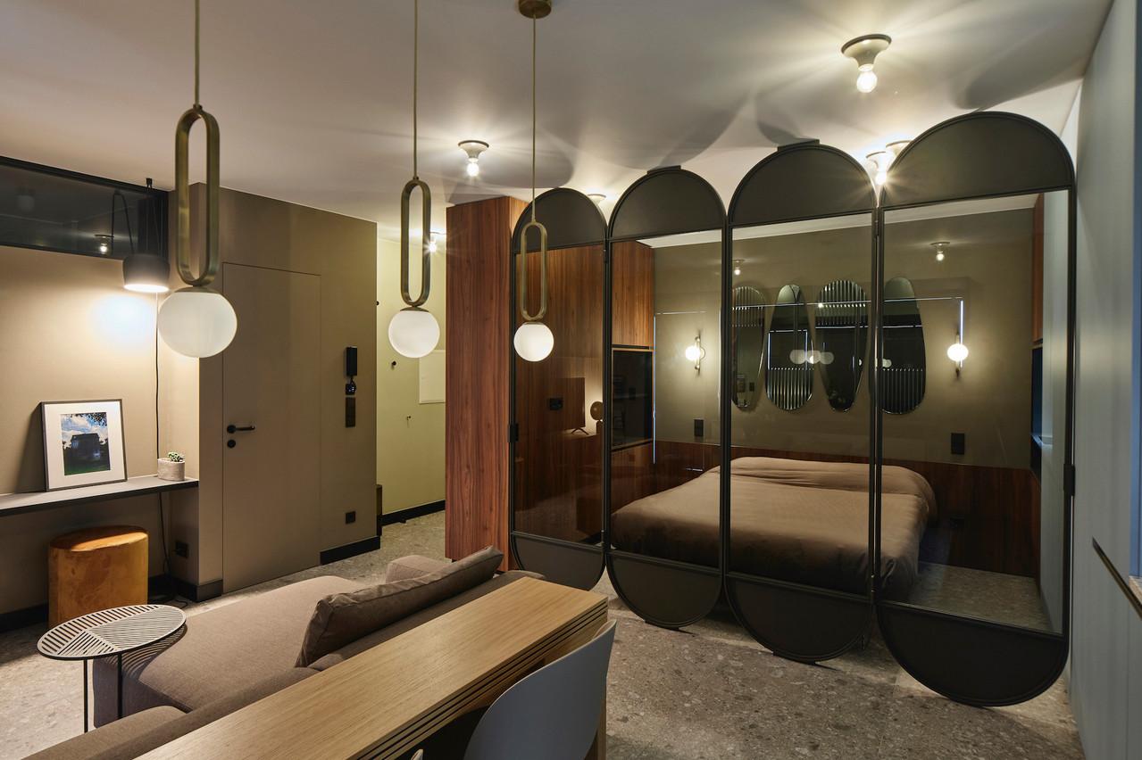 Cet appartement a été refait par EL'LE Interior Stories. (Photo: Eric Chenal)