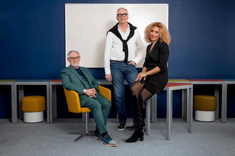 Fernand Wolter,Marc Kesch et Naouelle Tir vous présentent une belle aventure humaine. (Photo : Simon Verjus/Maison Moderne)