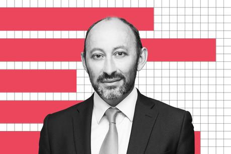 Laurent Marochini, responsable Innovation, Société Générale Securities Services à Luxembourg. (Montage: Charlène Pouthier/Maison Moderne)