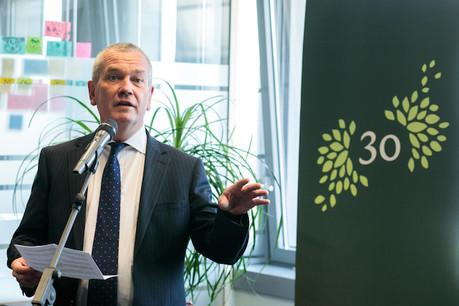 Pierre Etienne , administrateur délégué de Pictet & Cie (Europe), a confiance dans le modèle développé par la banque pour l'avenir. (Photo: Matic Zorman/Archives Maison Moderne)