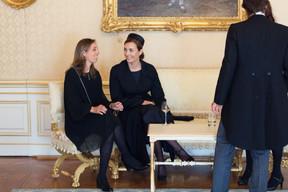 À droite, S.A.R. la princesse Claire de Luxembourg ((Photo: Cour grand-ducale/Samuel Kirszenbaum))