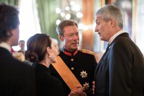 Au centre, S.A.R. le Grand-Duc Henri ((Photo: Cour grand-ducale/Sophie Margue))