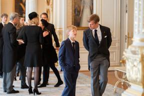 À droite, S.A.R le prince Louis ((Photo: Cour grand-ducale/Sophie Margue))