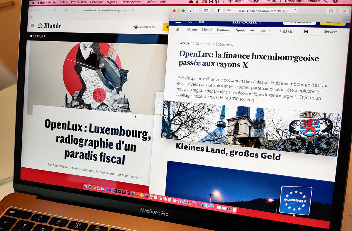 Durant un an, 17 médias internationaux ont analysé plus de 4 millions de documents en lien avec les dizaines de milliers de sociétés établies au Luxembourg. (Photo: Paperjam)
