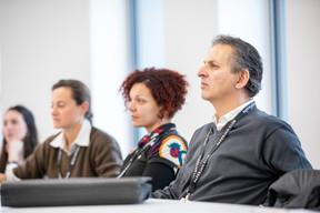 Salvatore Genovese (Genoways) à droite ((Photo: Patricia Pitsch/Maison Moderne))