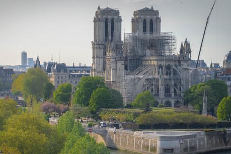 La rénovation de Notre-Dame pourrait se faire avec de l'acier offert par ArcelorMittal. (Photo: Shutterstock)