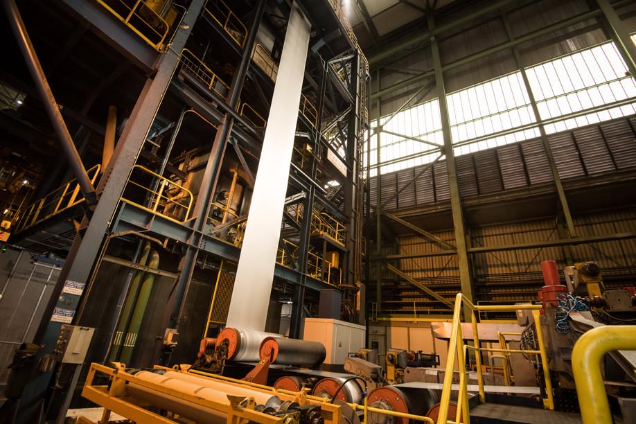 The Liberty Steel plant in Dudelange Nader Ghavami