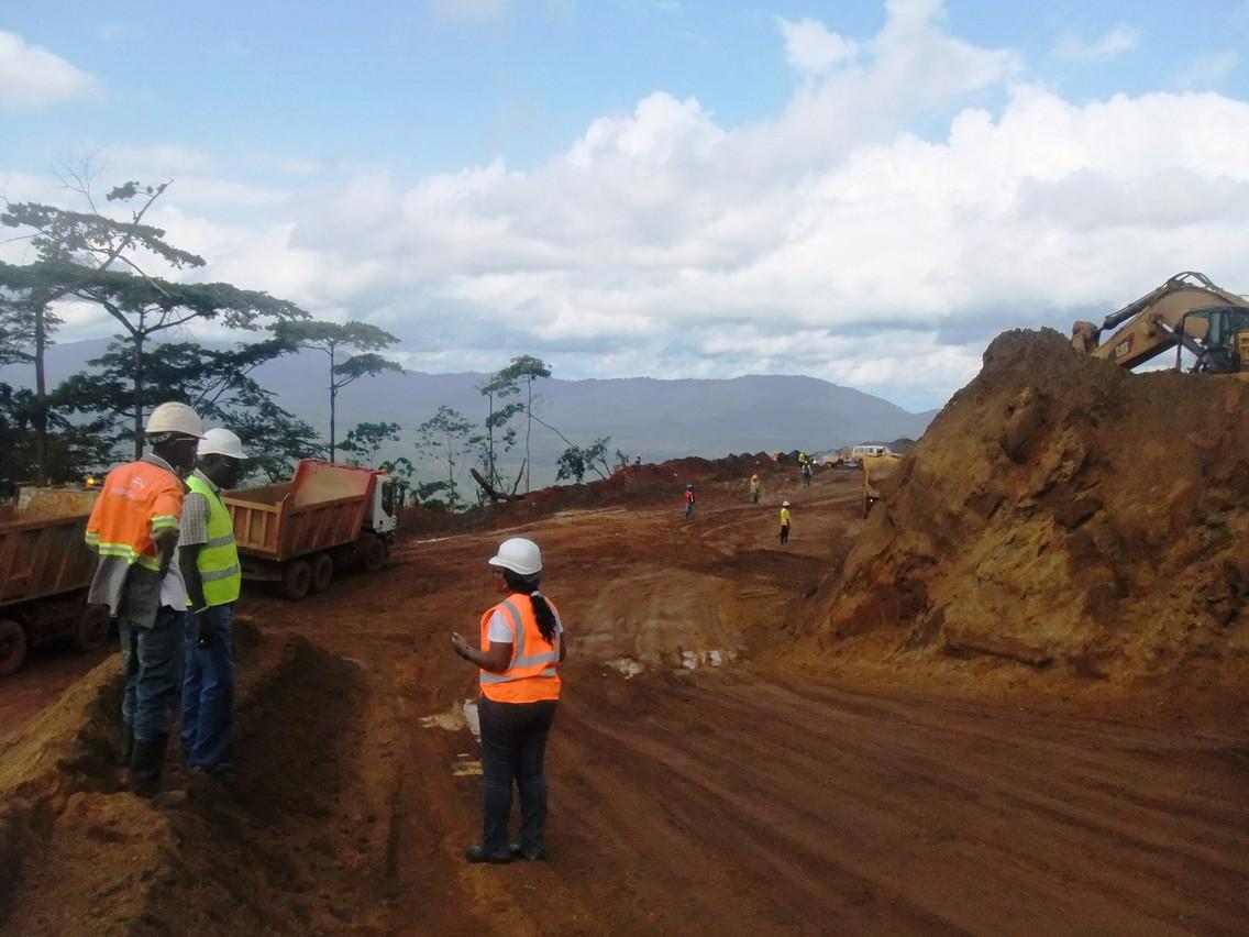 The Yekepa mines in Liberia Photo: ArcelorMittal