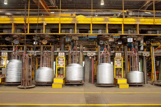 La production d'acier neutre en carbone représentera l'équivalent de 0,8% de l'ensemble de l'acier fabriqué l'an dernier par la multinationale. (Photo: Matic Zorman/Maison Moderne)