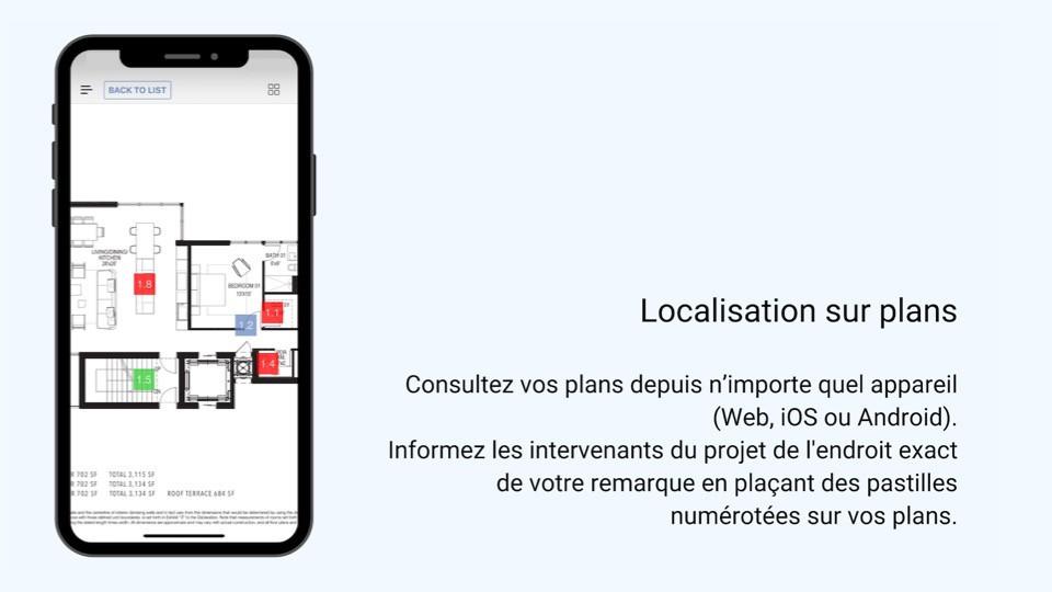 Localisation sur plans ArchiSnapper