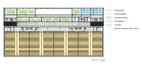 Plan du 2e étage ((Illustration: Fonds Belval))
