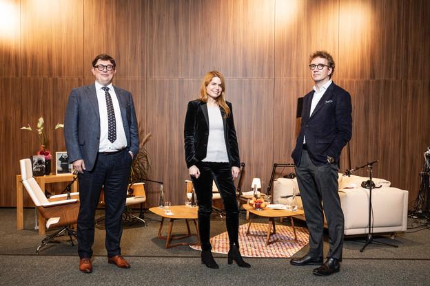 De gauche à droite: Philippe Wery, Clara Mara-Marhuenda et Laurent Schummer (Photo : Arendt)