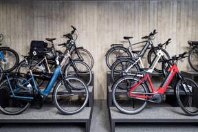 Les vélos électriques, très tendance sur les pistes cyclables du pays. ((Photo: Nader Ghavami))